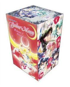 Sailor Moon Box Set 2 (vol. 7-12) by Naoko Takeuchi