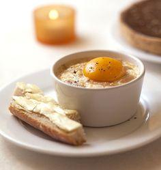 Oeufs cocotte au foie gras - Ôdélices : Recettes de cuisine faciles et originales !