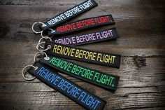 BLACK/COLORS PACK 6 Remove Before Flight Aviation by ApexTradeCo