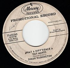 """45vinylrecord What A Diff'rence A Day Makes/Come On Home (7"""" DJ/45 rpm) MERCURY http://www.amazon.com/dp/B00U6CPXI6/ref=cm_sw_r_pi_dp_y4hAvb1W1TYXV"""