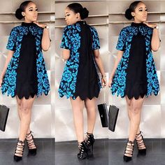 Amazing Ankara Short Gowns Styles And Designs To Stun Any Audience African Fashion Ankara, Latest African Fashion Dresses, African Print Fashion, Africa Fashion, African Style, Short African Dresses, Ankara Short Gown Styles, African Print Dresses, African Attire Patterns