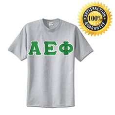 #AlphaEpsilonPhi Sorority Standard Lettered T-Shirt | Something Greek | #AEPhi #sororityclothing #standards #somethinggreek