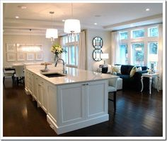 Island Pendant lights - this lighting height guide will help with all your lighting needs!