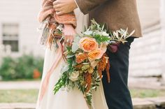 Autumn Countryside Ontario Elopement: Meagan + Andrew | Green Wedding Shoes Wedding Blog | Wedding Trends for Stylish + Creative Brides