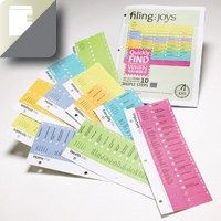Simple to implement and extra easy to maintain, this system has a bonus: it's gorgeous! office, paper organizing