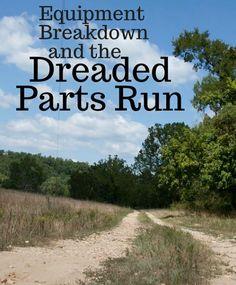 The Dreaded Parts Run