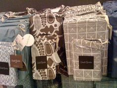 Dwell Bedding Packaging