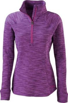 """""""Bought for layering, outdoors...very comfortable. Substantial thickness of fabric for warmth. Flattering style and fit. Would buy another if more new colors come out in this top."""" Review of the Cabela's Women's Tectonic 1/4-Zip Sweater"""