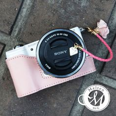 Melten-Sony-a5000-a5100-Pink-Half-Case-Natural-leather-Luxury-handmade