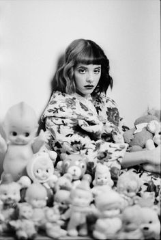 (FC: Melanie Martinez) *signs* <They call me Cry Baby. I'm a ghost here. I won't hurt you if you're nice. But if you make me angry, it's better if you just leave here for a while...> I giggle.