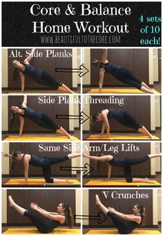 Work your Core with these killer moves!