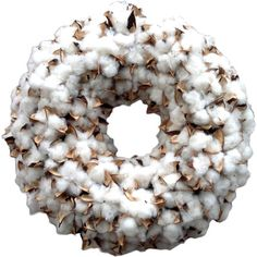 Faux Cotton Wreath II  at Joss and Main