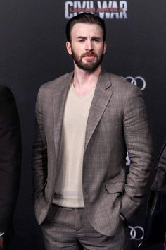 "thehulk: "" Chris Evans attends the premiere of ""Captain America: Civil War"" on April 2016 in Beijing, China. Christopher Evans, Capitan America Chris Evans, Chris Evans Captain America, Capt America, Robert Evans, Logan Lerman, Amanda Seyfried, Steve Rogers, Sebastian Stan"
