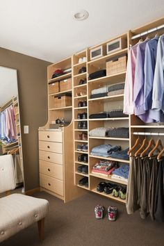 California Closets Home Improvement Tip: Create More Closet Storage
