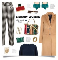 """Library Woman"" by marina-volaric ❤ liked on Polyvore featuring Joseph, Rochas, Petar Petrov, Gucci, Dolce&Gabbana, Kin by John Lewis, Fendi, Tom Ford, Kenneth Jay Lane and Tommy Hilfiger"
