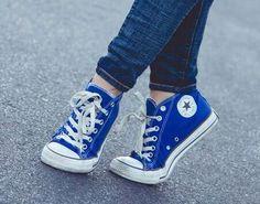 Blue Converse!