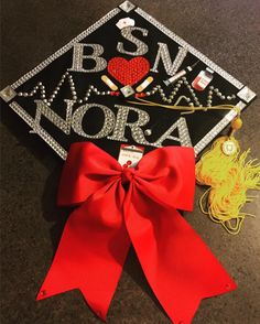 Nursing Graduation, Graduation Caps, School, Degree In Nursing