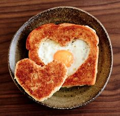 An old favorite of my children when they were ... children.  Egg in the hole.  Daily Pick - Home, Food, DIY and Else: food