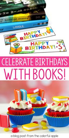5 tips for celebrating student birthdays with books! One of the most powerful ways to encourage reading in children is to show them how special books can be. This post shares fun and easy ways to use books to celebrate student birthdays. Teaching Tips, Teaching Reading, Reading Resources, Classroom Resources, Classroom Ideas, Community Building Activities, Classroom Community, School Community, Student Birthdays
