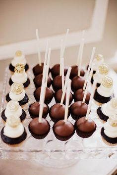 Cake Pops and mini-cupcakes: all the rage!  by Big City Little Sweets
