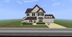 Resultado de imagem para minecraft american houses