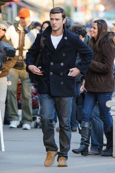 05a22263728 Justin Timberlake Photo - Justin Timberlake Shoots 'The Runner' Justin  Love, Jessica Biel
