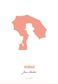 Jane Austen Novels - Emma - Negative Space