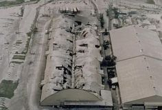This is what the ash did to the hangars at Clark.now I am glad x 2 that I wasn't there. Lava, Air Force Bases, Cheap Flights, Military Life, Childhood Memories, Philippines, Places Ive Been, Abandoned, Angeles