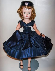 Vintage Madame Alexander Cissy Doll Tagged Dress