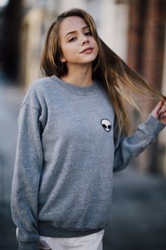 Erica Alien Patch Sweater