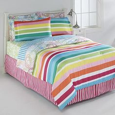 Little Miss Matched Swirly Curly Bedding Set