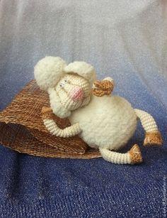 мастера Ирина Ключенко Stuffed Toys Patterns, Crochet Dolls, Doll Toys, Sheep, Haha, Teddy Bear, Animals, Amigurumi, Animales