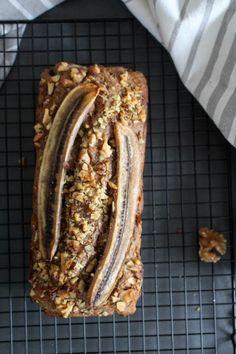 Gesunder Bananen-Karotten-Kuchen - vegan, vegetarisch, rein pflanzlich, glutenfrei, gesund - de.heavenlynnhealthy.com
