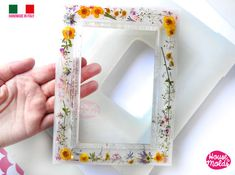 resin art BIG Smooth Photo Frame Clear Mold - make your custom rectangular photo cm x 20 cm - x glossy resin reproductions Epoxy Resin Art, Diy Resin Art, Diy Resin Crafts, Resin Molds, Diy And Crafts, Diy Resin Mold, Polyurethane Resin, Diy Epoxy, Stick Crafts
