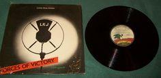 "Vintage 12"" Reggae Dub Poetry Vinyl LP Album LKJ Linton Kwesi Johnson Forces of Victory Rico Blackbeard 1979 Rare Island Record Rising to number one on the British #reggae charts and hailed by critics as the best album of 1979, Forces Of Victory is a an  influential LP"