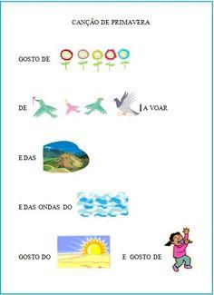 Educ@ naWeb ....Pré-Escolar: Trabalhos e recursos sobre a Primavera Games For Kids, Diy For Kids, Crafts For Kids, Sara C, Diy And Crafts, School, Spring, Sight Word Activities, Preschool Music Lessons