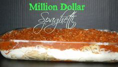 Million Dollar Spaghetti ~ cook this meals