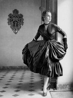 Cristóbal Balenciaga 1951 | Photo by Willy Maywald
