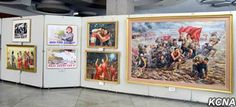 An art exhibition was opened with due ceremony at the Central Youth Hall Wednesday to celebrate the anniversary of the Kim Il Sung Socialist Youth League. Displayed at the venue of the exhibition were art 70th Anniversary, Youth, Culture, Painting, Painting Art, Paintings, Young Adults, Drawings, Teenagers