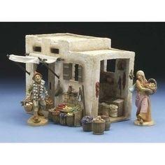 "Fontanini Produce Shop 2006 Accessory for 5"" Nativity Rare and Retired"