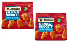 Jimmy Dean launches breakfast nuggets in US - FoodBev Media Turkey Sausage, Chicken Sausage, Jimmy Dean Sausage, Food Packaging Design, Breakfast Options, Breakfast Cereal, Meat Lovers, Product Launch, Sweet