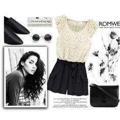 ROMWE17 by m-zineta on Polyvore featuring moda