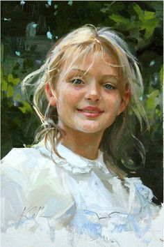 "BoldBrush Painting Competition Winner - January 2011 | ""Sunny"" by Kay Polk"