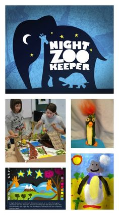 Have you met the Night Zookeeper yet? It's a site full of creative art and storytelling ideas for children, with lots of free resources. Click though to see all the activities and resources: lesson plans, printable, online/interactive, apps....