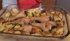 Roasted Chicken and Potato Bake – Recipe by Laura Vitale – Laura in the Kitchen Ep 199 Dinner Chicken – Dinner Recipes Chicken And Red Potatoes Recipe, Red Potato Recipes, Chicken Recipes, Recipe Chicken, Turkey Recipes, Great Recipes, Dinner Recipes, Favorite Recipes, Healthy Recipes