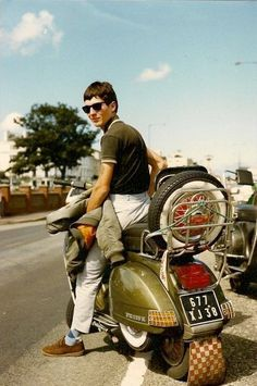 Mod on Scooter