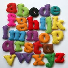 Alfabeto de feltro