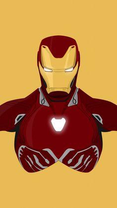 Downaload Iron man, superhero, minimal, iron suit wallpaper for screen 720x1280, Samsung Galaxy mini S3, S5, Neo, Alpha, Sony Xperia Compact Z1, Z2, Z3, ASUS Zenfone