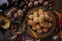 panellets 2015. Stuffed Mushrooms, Vegetables, Food, Stuff Mushrooms, Essen, Vegetable Recipes, Meals, Yemek, Veggies