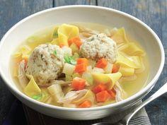 """Not Exactly Aunt Lil's Matzo Ball Soup"" from Cookstr.com #cookstr"